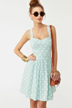 40 Polka Dot Dresses In Fashion Ideas 8