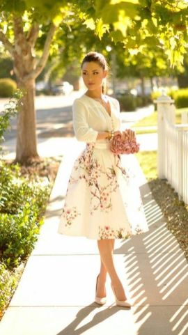 40 Ways to Look Stylish With White Heels Ideas 11