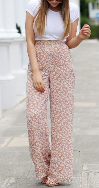 40 Ways to Wear Palazzo Pants for Summer Ideas 12