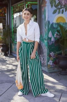 40 Ways to Wear Palazzo Pants for Summer Ideas 18