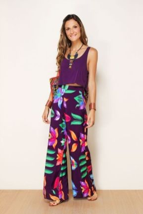 40 Ways to Wear Palazzo Pants for Summer Ideas 19
