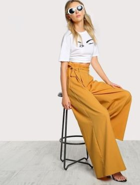 40 Ways to Wear Palazzo Pants for Summer Ideas 23