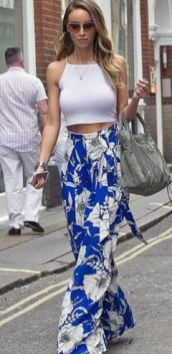 40 Ways to Wear Palazzo Pants for Summer Ideas 28