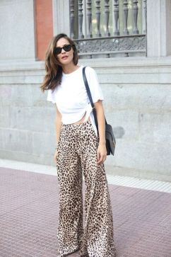40 Ways to Wear Palazzo Pants for Summer Ideas 37