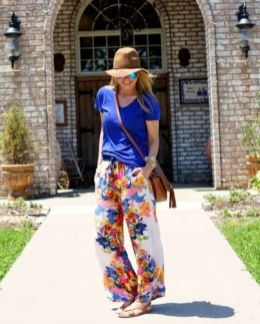 40 Ways to Wear Palazzo Pants for Summer Ideas 5