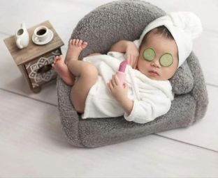50 Cute Newborn Photos for Baby Girl Ideas 2