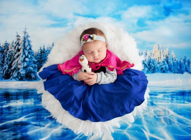 50 Cute Newborn Photos for Baby Girl Ideas 21