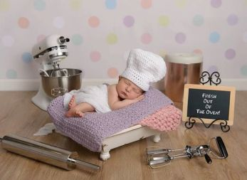 50 Cute Newborn Photos for Baby Girl Ideas 28