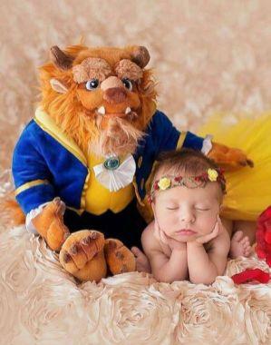 50 Cute Newborn Photos for Baby Girl Ideas 41