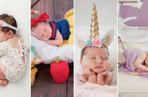 50 Cute Newborn Photos for Baby Girl Ideas