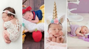 50 Cute Newborn Photos for Baby Girl Ideas