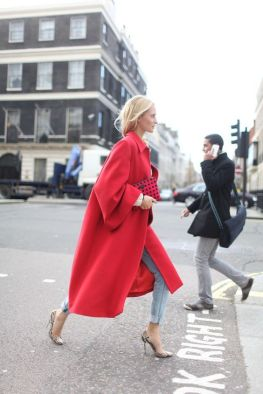 50 Fashionable Red Outfit Ideas 13