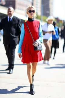 50 Fashionable Red Outfit Ideas 16