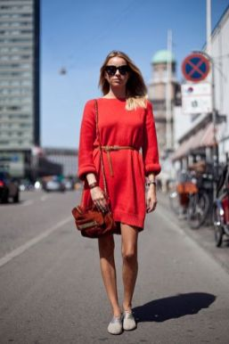 50 Fashionable Red Outfit Ideas 19