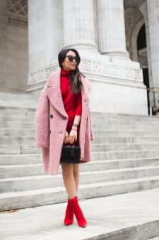 50 Fashionable Red Outfit Ideas 30