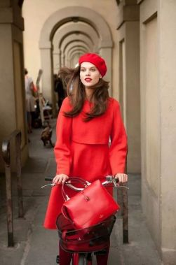 50 Fashionable Red Outfit Ideas 32