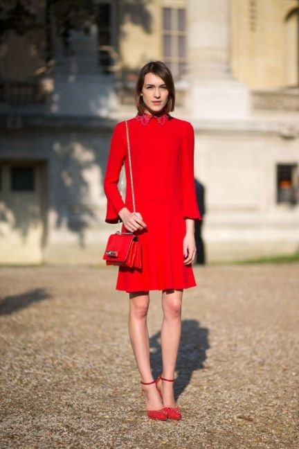 50 Fashionable Red Outfit Ideas 46