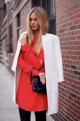 50 Fashionable Red Outfit Ideas 47