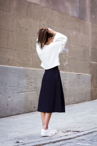 50 Ways to Wear Perfect Black and White in Fashion Ideas 14