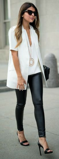50 Ways to Wear Perfect Black and White in Fashion Ideas 30