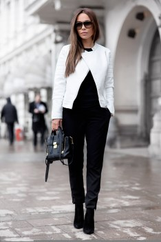 50 Ways to Wear Perfect Black and White in Fashion Ideas 32