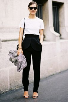 50 Ways to Wear Perfect Black and White in Fashion Ideas 36