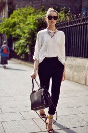 50 Ways to Wear Perfect Black and White in Fashion Ideas 41
