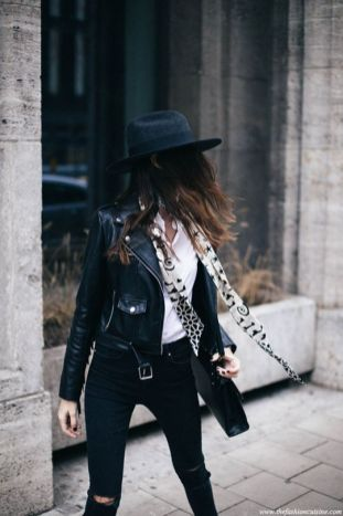 50 Ways to Wear Perfect Black and White in Fashion Ideas 7