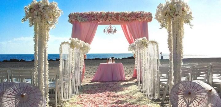 60 Beach Wedding Themed Ideas 35