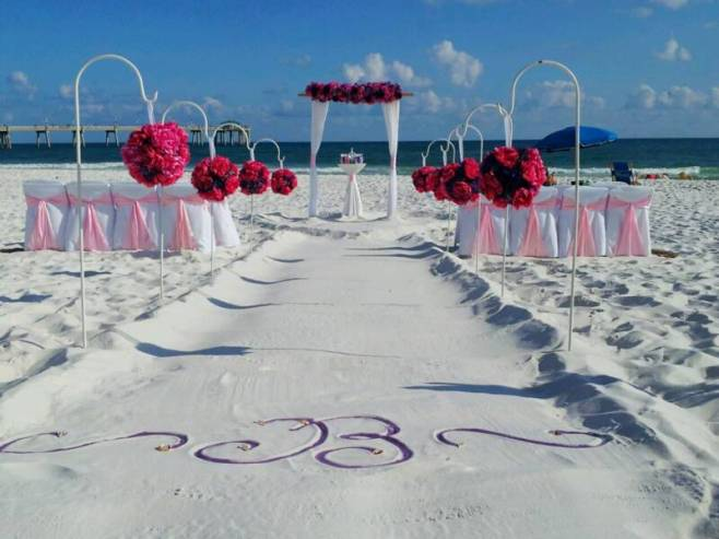 60 Beach Wedding Themed Ideas 51