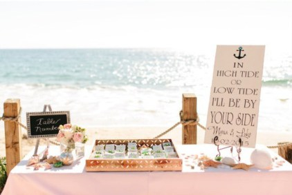 60 Beach Wedding Themed Ideas 9