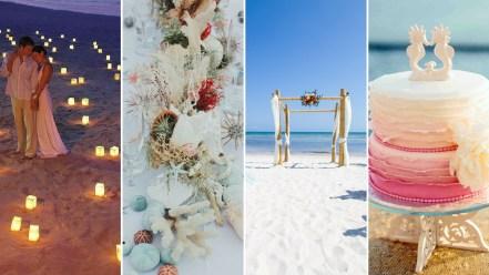 60 Beach Wedding Themed Ideas