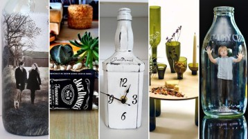 80 Ways to Reuse Your Glass Bottle Ideas