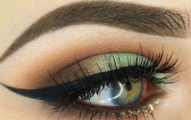 40 Green Eyeshadow Looks Ideas 9