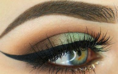40 Green Eyeshadow Looks Ideas 9