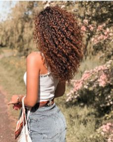 40 Loose Curly Natural Hairstyle Ideas 4