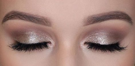 40 Silver Eye Makeup Looks You Need to Try 10