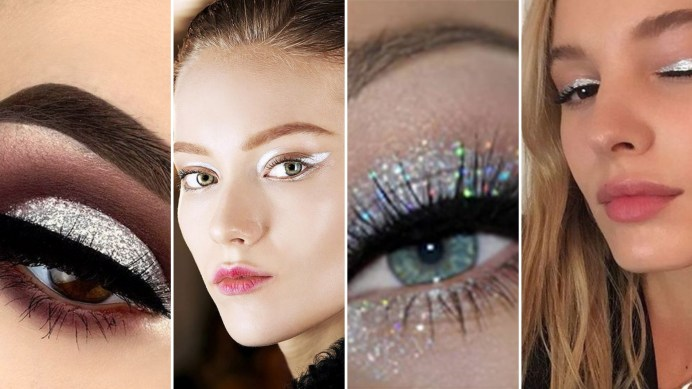 40 Silver Eyes Makeup Looks You Need to Try