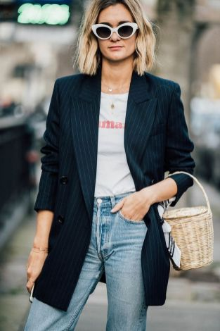 40 Ways to Wear Oversized Blazer for Women Ideas 35
