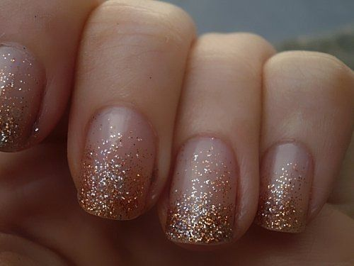 50 Glam Gold Girly Nail Art Looks Ideas 5