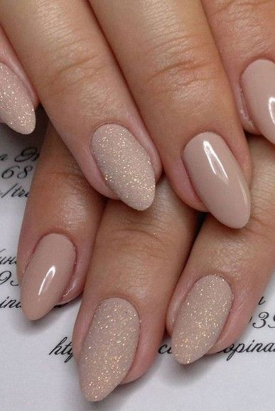 50 Glam Gold Girly Nail Art Looks Ideas 6