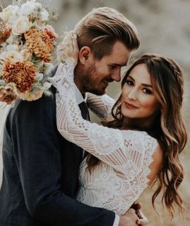 50 Natural Loose Hairstyle Looks for Brides Ideas 31