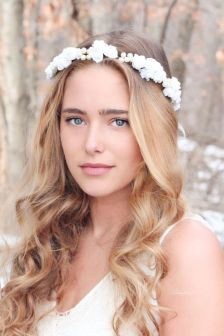 50 Natural Loose Hairstyle Looks for Brides Ideas 35