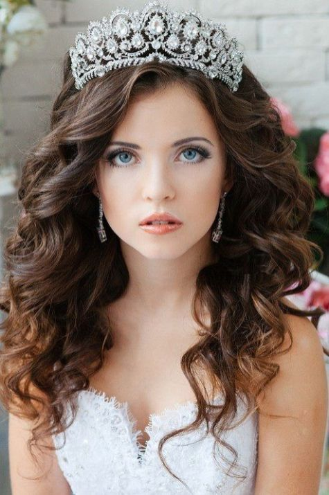 50 Natural Loose Hairstyle Looks for Brides Ideas 51