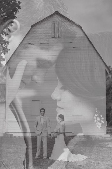 50 Romantic Wedding Double Exposure Photos Ideas 13