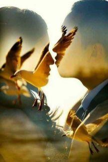 50 Romantic Wedding Double Exposure Photos Ideas 22
