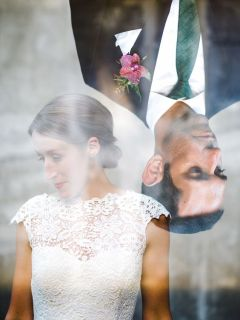 50 Romantic Wedding Double Exposure Photos Ideas 37