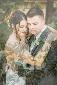 50 Romantic Wedding Double Exposure Photos Ideas 38