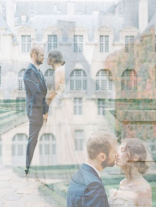 50 Romantic Wedding Double Exposure Photos Ideas 40