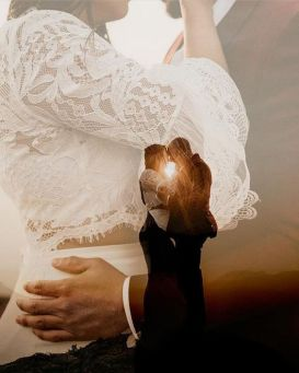 50 Romantic Wedding Double Exposure Photos Ideas 41